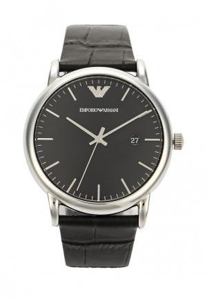 Часы Emporio Armani. Цвет: черный