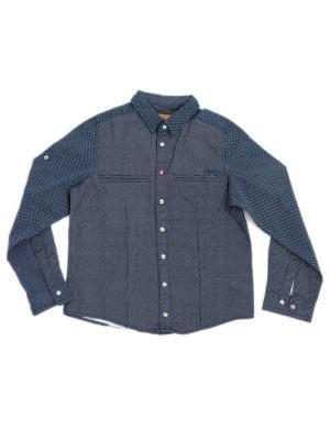Рубашка Pilota. Цвет: темно-синий