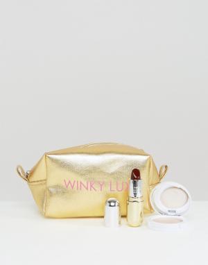 Winky Lux Набор для стробинга и макияжа губ Nice. Цвет: мульти