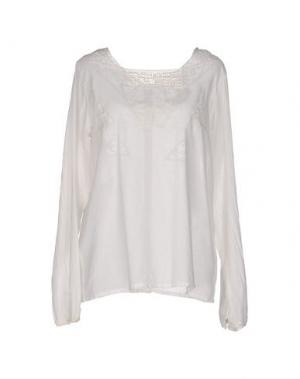 Блузка LOCAL APPAREL. Цвет: слоновая кость