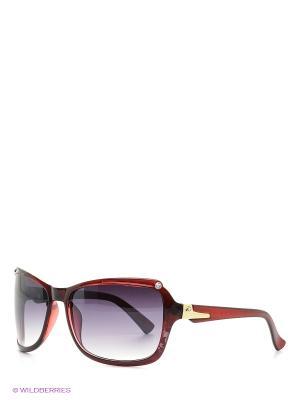 Солнцезащитные очки Vittorio Richi. Цвет: темно-красный, бледно-розовый, темно-бордовый