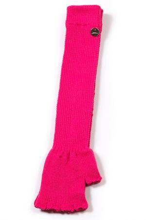 Перчатки LOVE MADE. Цвет: розовый