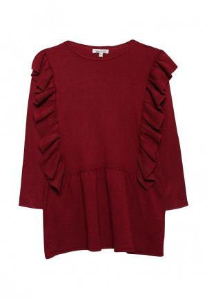 Платье Piazza Italia. Цвет: бордовый
