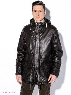 Куртка Havana & Co. Цвет: темно-коричневый