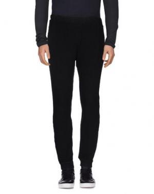 Повседневные брюки GROCERIES. Цвет: черный