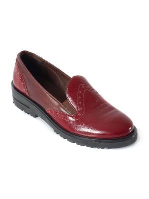 Ботинки Ионесси. Цвет: бордовый