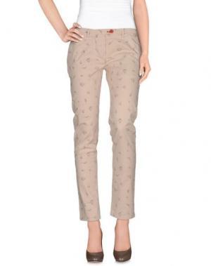 Повседневные брюки SUPERPANTS. Цвет: бежевый