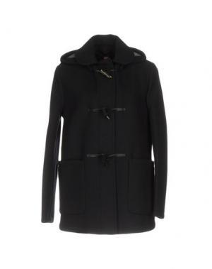 Пальто GLOVERALL. Цвет: темно-синий