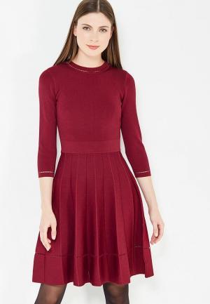 Платье Conso Wear. Цвет: бордовый