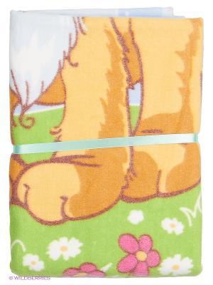 Одеяло Baby Nice. Цвет: оранжевый, зеленый