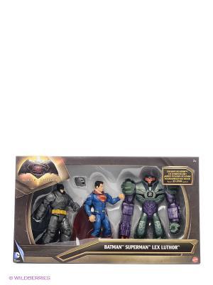 Игровой набор Бэтмен и Супермен против Лекса BATMAN VS SUPERMAN. Цвет: синий, зеленый, серый, красный