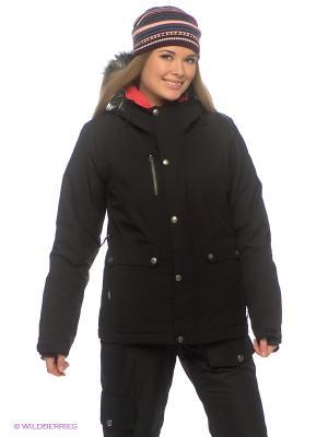 Куртка BONFIRE. Цвет: черный