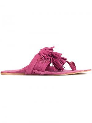 Босоножки Scaramouche Figue. Цвет: розовый и фиолетовый