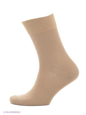 Носки мужские Burlesco. Цвет: бежевый