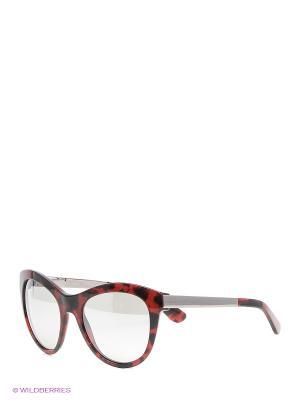 Очки солнцезащитные DOLCE & GABBANA. Цвет: бордовый
