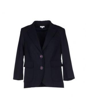 Пиджак MANOUSH. Цвет: темно-синий