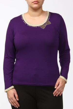 Блуза Elisa Fanti. Цвет: фиолетовый