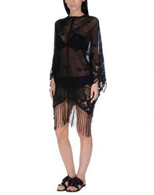 Пляжное платье MIGUELINA. Цвет: черный