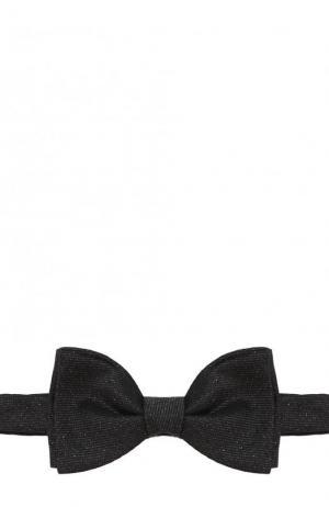 Галстук-бабочка Lanvin. Цвет: темно-серый