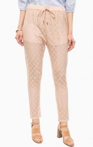 Трикотажные брюки на резинке Kocca. Цвет: бежевый