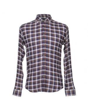 Pубашка MAVERICK. Цвет: коричневый