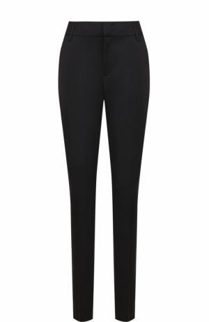 Шерстяные брюки со стрелками и карманами Dorothee Schumacher. Цвет: черный