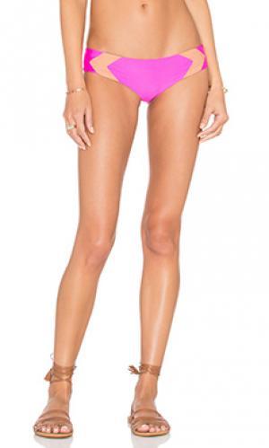 Низ бикини mentawai Acacia Swimwear. Цвет: розовый
