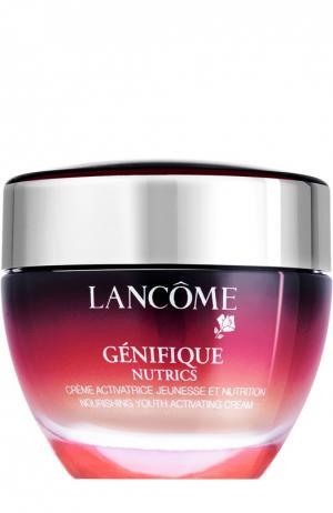 Крем-активатор молодости для сухой кожи Génifique Nutrics Lancome. Цвет: бесцветный
