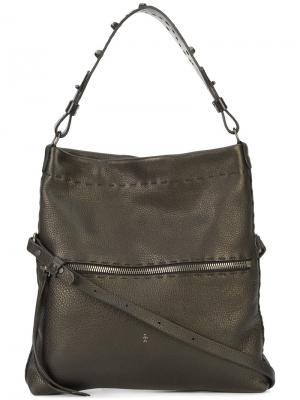 Классическая сумка на плечо Henry Beguelin. Цвет: чёрный