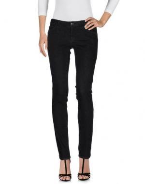 Джинсовые брюки CARLA G.. Цвет: черный