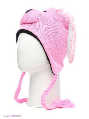 Шапка HOBBY LINE. Цвет: розовый