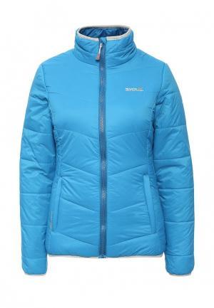 Куртка утепленная Regatta. Цвет: голубой