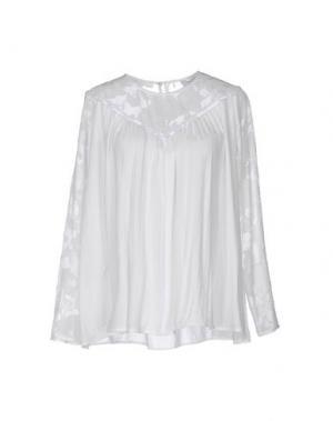 Блузка AXARA PARIS. Цвет: белый
