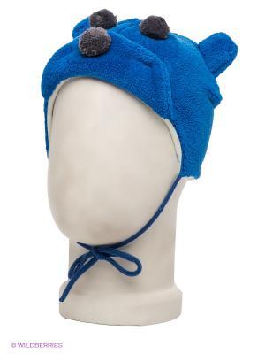 Шапка HUPPA. Цвет: синий, серый