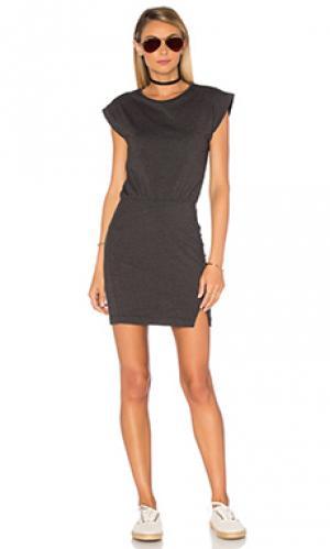 Платье dani LA Made. Цвет: уголь