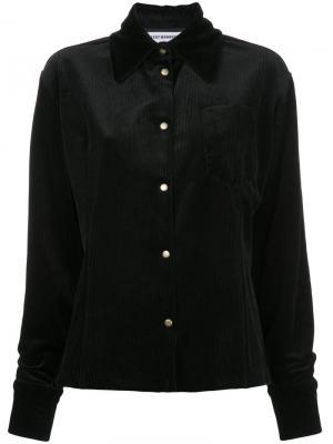 Куртка из вельвета N Duo. Цвет: чёрный