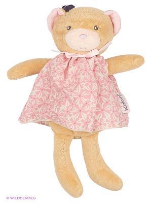 Мишка, коллекция Розочка Kaloo. Цвет: бежевый