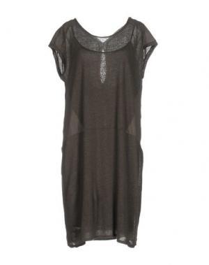 Короткое платье SITA MURT/. Цвет: свинцово-серый