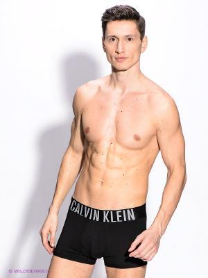 Трусы Calvin Klein. Цвет: черный, белый