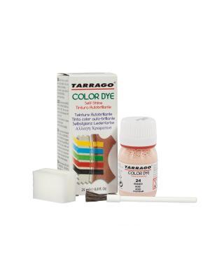 Краситель  для гладкой кожи TDC01 COLOR DYE, стекло, 25мл. (024 розовый) Tarrago. Цвет: розовый