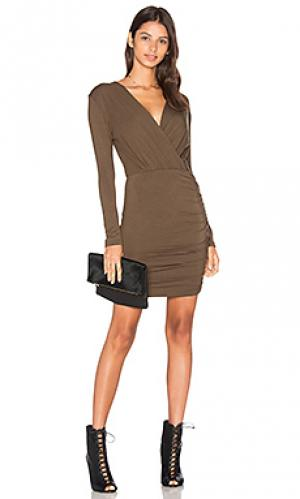 Платье kelsi De Lacy. Цвет: военный стиль