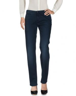 Повседневные брюки WOOLRICH. Цвет: темно-синий