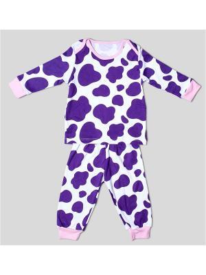 Пижама Extreme Intimo. Цвет: фиолетовый