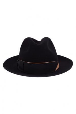 Фетровая шляпа с лентой Borsalino. Цвет: none