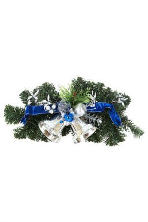 Украшение 35х17х7,5 см Monte Christmas. Цвет: зеленый, серебристый, синий