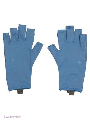 Перчатки рыболовные BUFF Sport Series Water Gloves Glacier Blue. Цвет: голубой