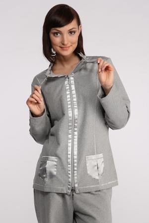 Куртка Furstenberg. Цвет: серый