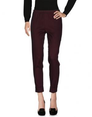 Повседневные брюки CORINNA CAON. Цвет: пурпурный