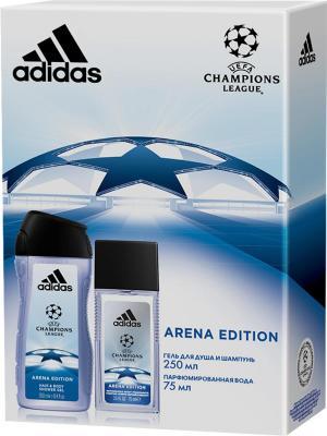Adidas - Набор М uefa arena edition парфюмированная вода 75 мл + гель для душа 250. Цвет: прозрачный