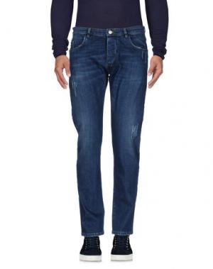 Джинсовые брюки OFFICINA 36. Цвет: синий